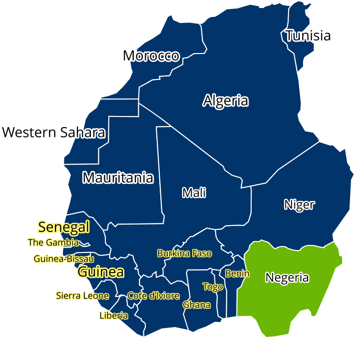 nigeria and the West African Countries